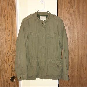 Hinge | Army Utility Jacket | Green | Size M